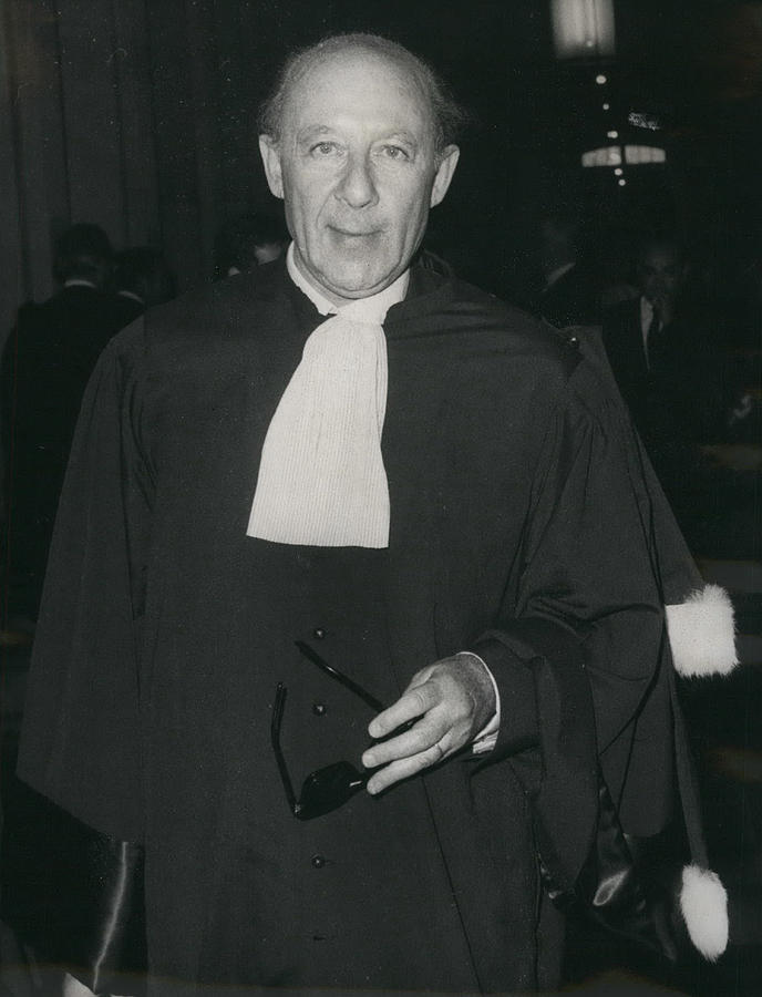 Retro Photograph - Ben Barka Trial by Retro Images Archive