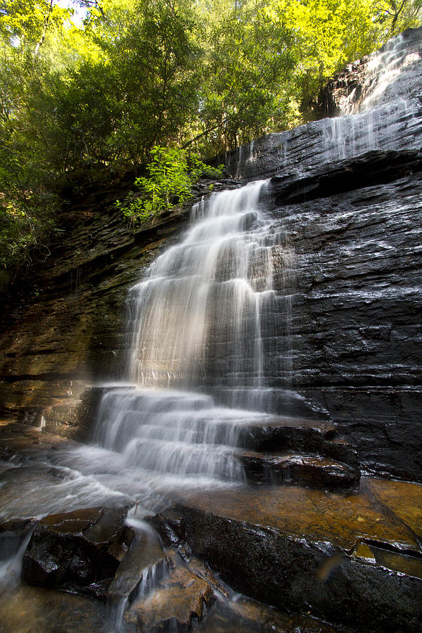 Appalachia Photograph - Benton Falls by Debra and Dave Vanderlaan