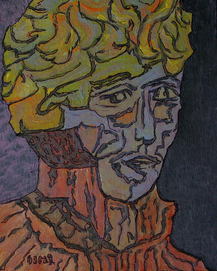 Art Painting - Bernard  by Oscar Penalber