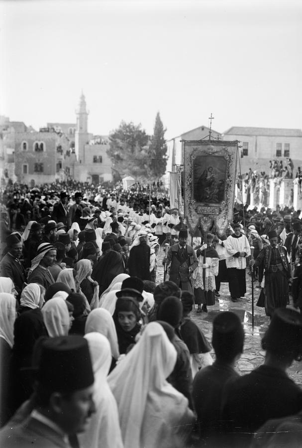 20th Century Photograph - Bethlehem Christmas by Granger