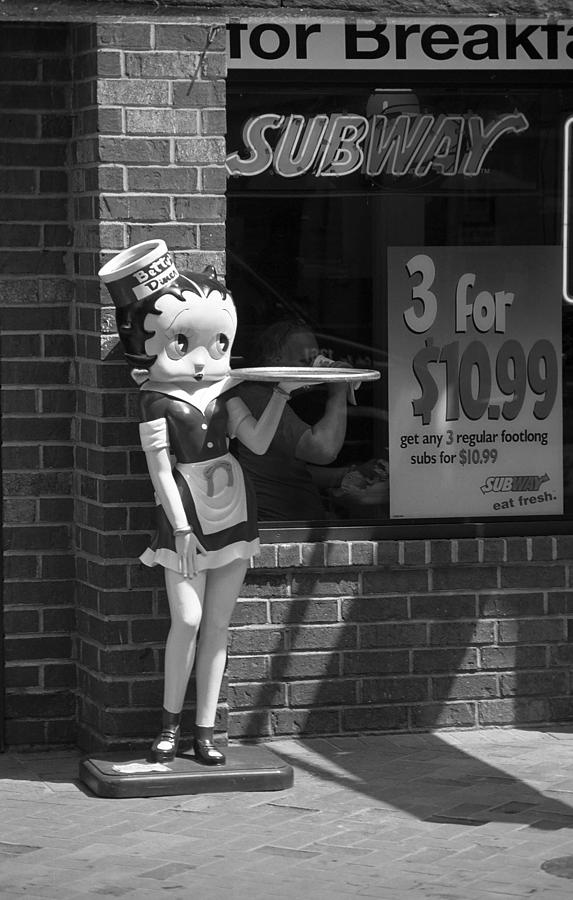 1930's Photograph - Betty Boop 1 by Frank Romeo