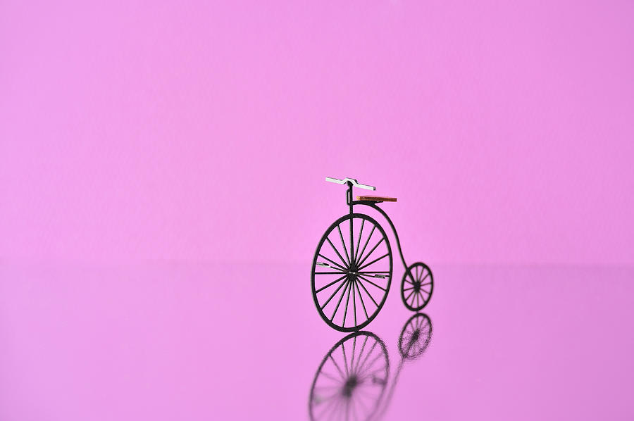 Bicycle Model Made Of Paper Photograph by Yagi Studio