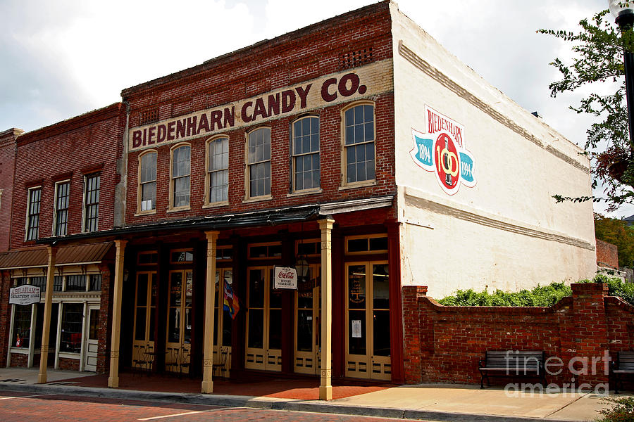 Biedenharn Candy Co Photograph by Russell Christie
