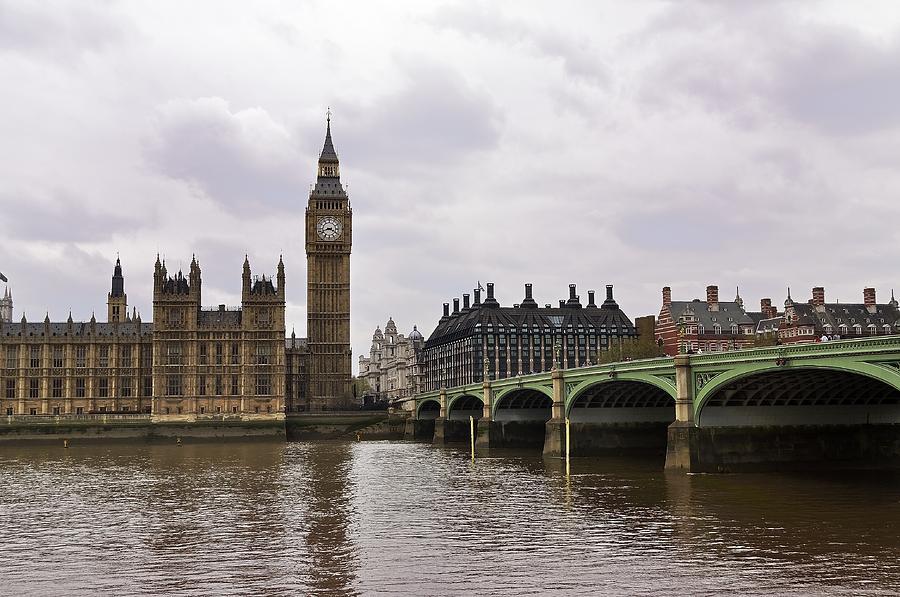 Big Ben Photograph - Big Ben by Andres LaBrada
