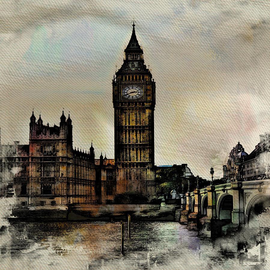 Big Ben Photograph - Big Ben by Angel Eowyn