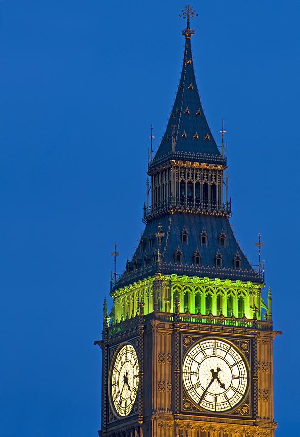 London Photograph - Big Ben London by Matthew Gibson