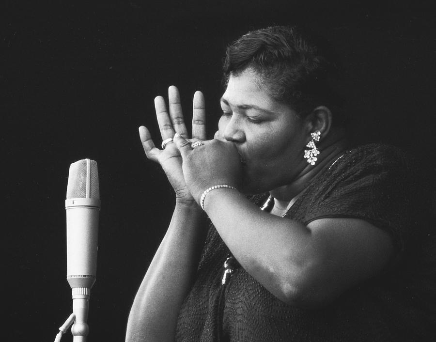 Big Mama Thornton Photograph - Big Mama Thornton by Dave Allen