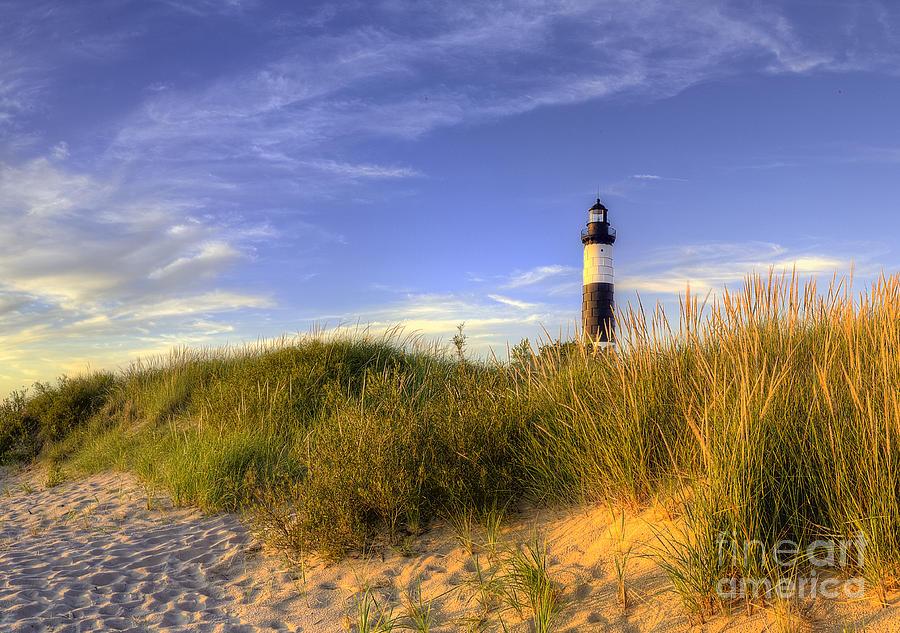 Big Sable Photograph - Big Sable Lighthouse by Twenty Two North Photography