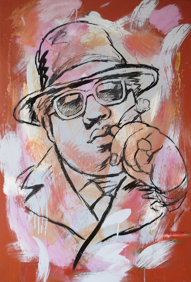Biggie Smalls Art Drawing Poster Painting - Biggie Smalls Art Painting Poster by Kim Wang