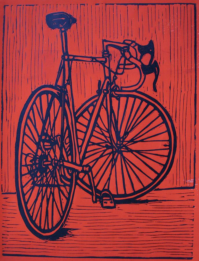 Bike Drawing - Bike 4 by William Cauthern