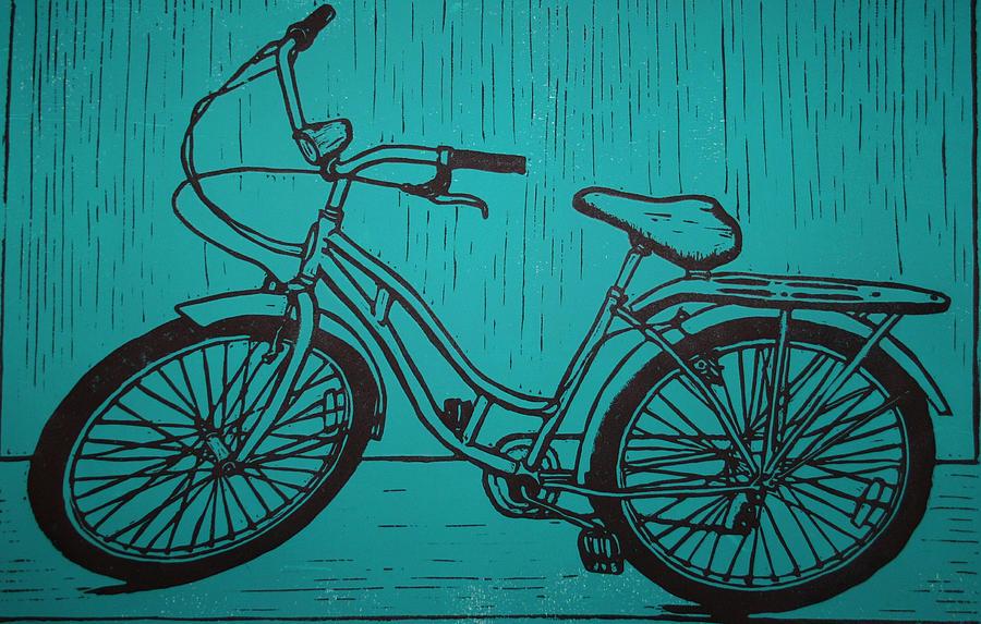 Bike Drawing - Bike 5 by William Cauthern
