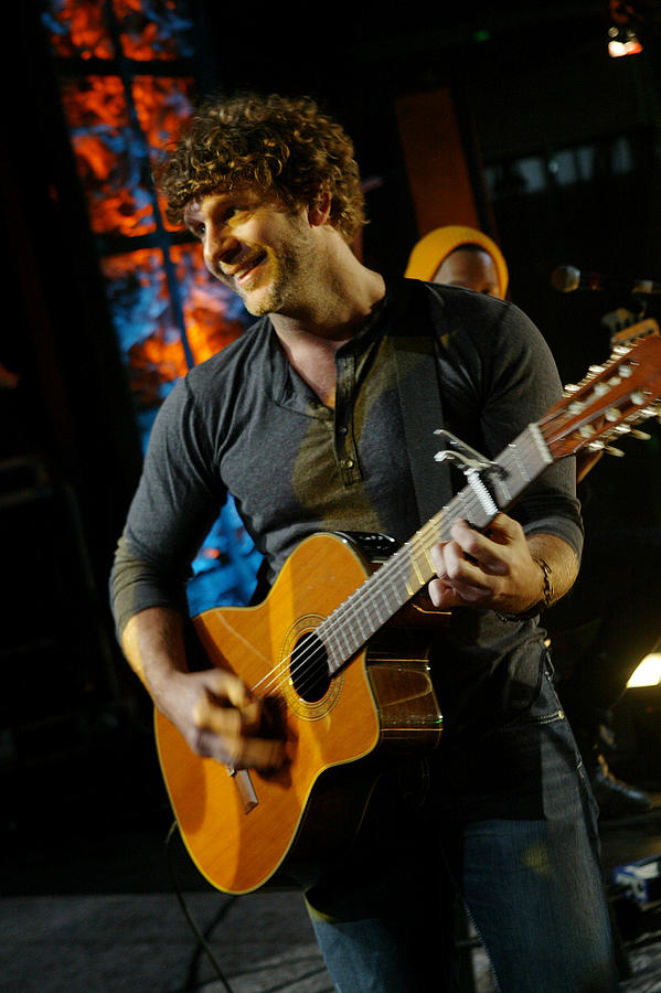 Banjo Photograph - Billy Currington by Don Olea