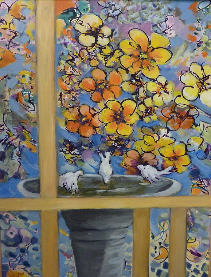 Birdbath by Melanie Lewis