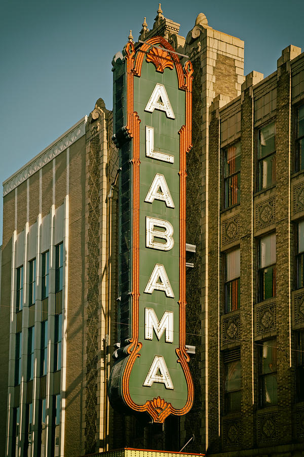 Alabama Theatre Photograph - Birminghams Alabama Theatre by Mountain Dreams