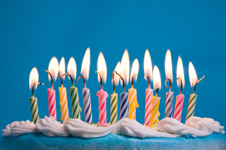 Birthday Candles 1 Photograph by Bluestocking