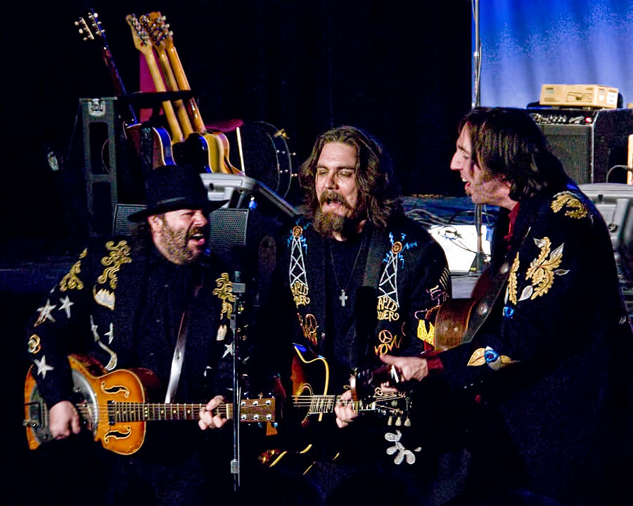 Singer Songwriter Photograph - Blackie And The Rodeo Kings by Randall Nyhof