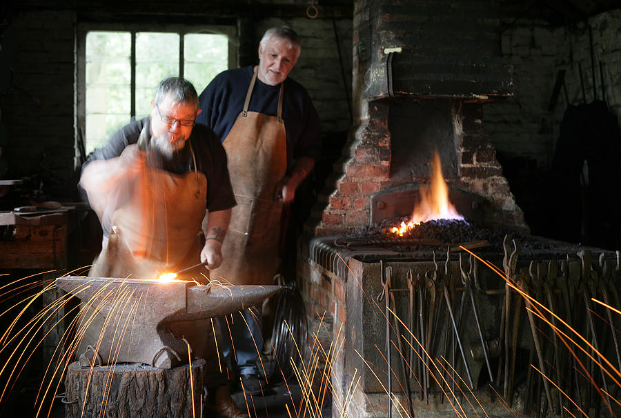 Blacksmith Photograph - Blacksmith by Stephen Norris