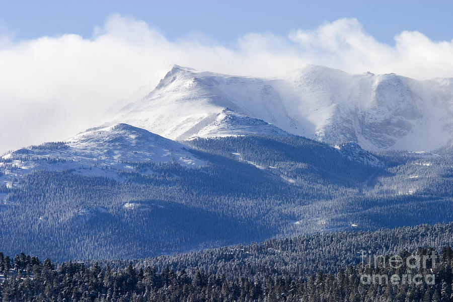 Blizzard Peak Photograph