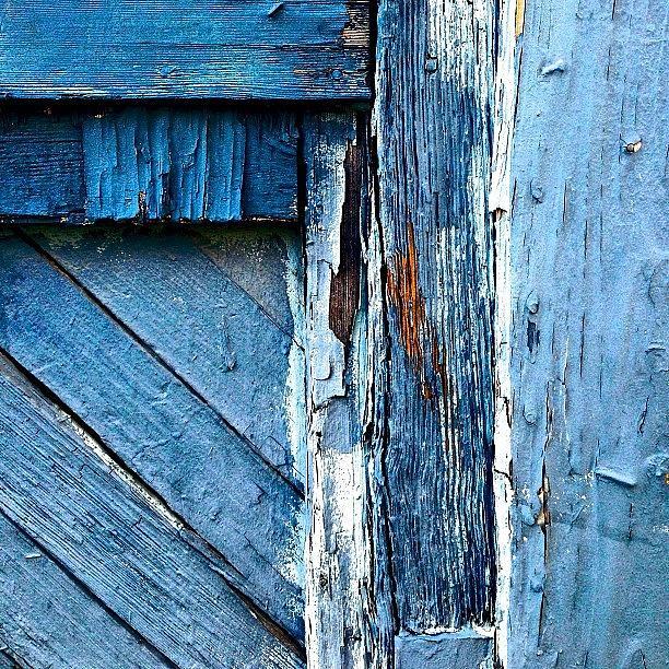 Sanfrancisco Photograph - Blue Door Detail by Julie Gebhardt