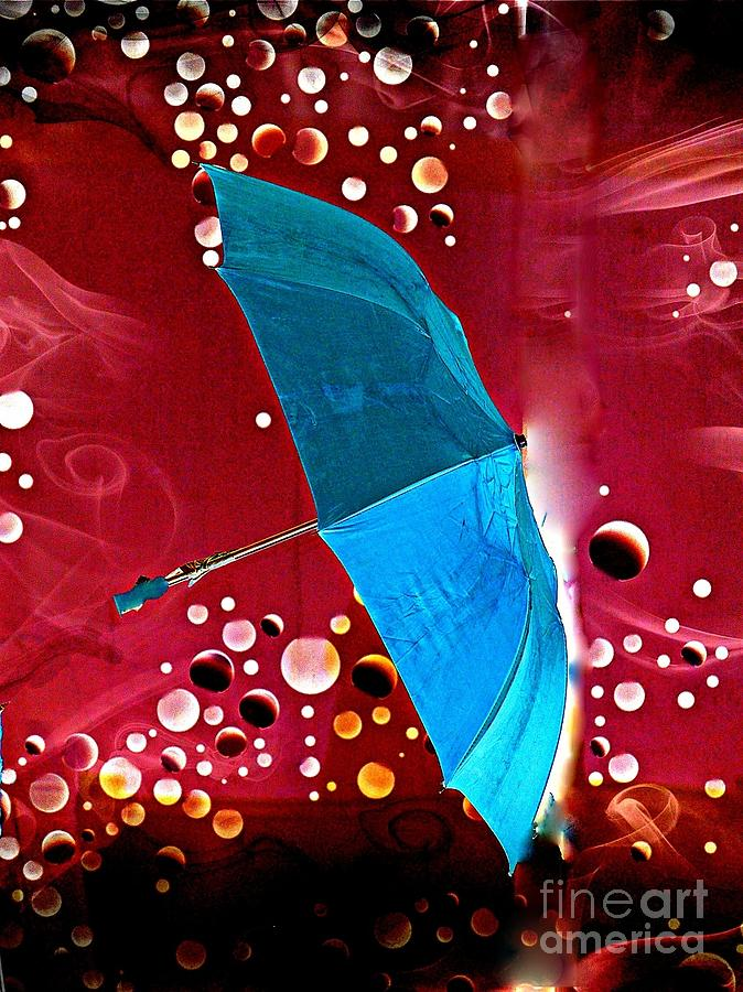 Fantasy Photograph - Blue Magic by Marcia Lee Jones