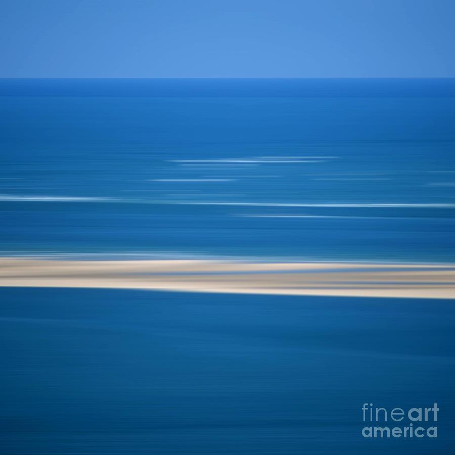 Outdoors Photograph - Blurred Sea by Bernard Jaubert