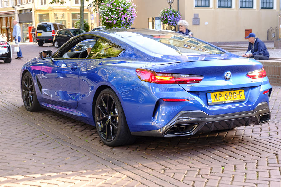 Bmw 8 Series Coupe - Bmw M850i Exclusive Sports Car Photograph by Sjo