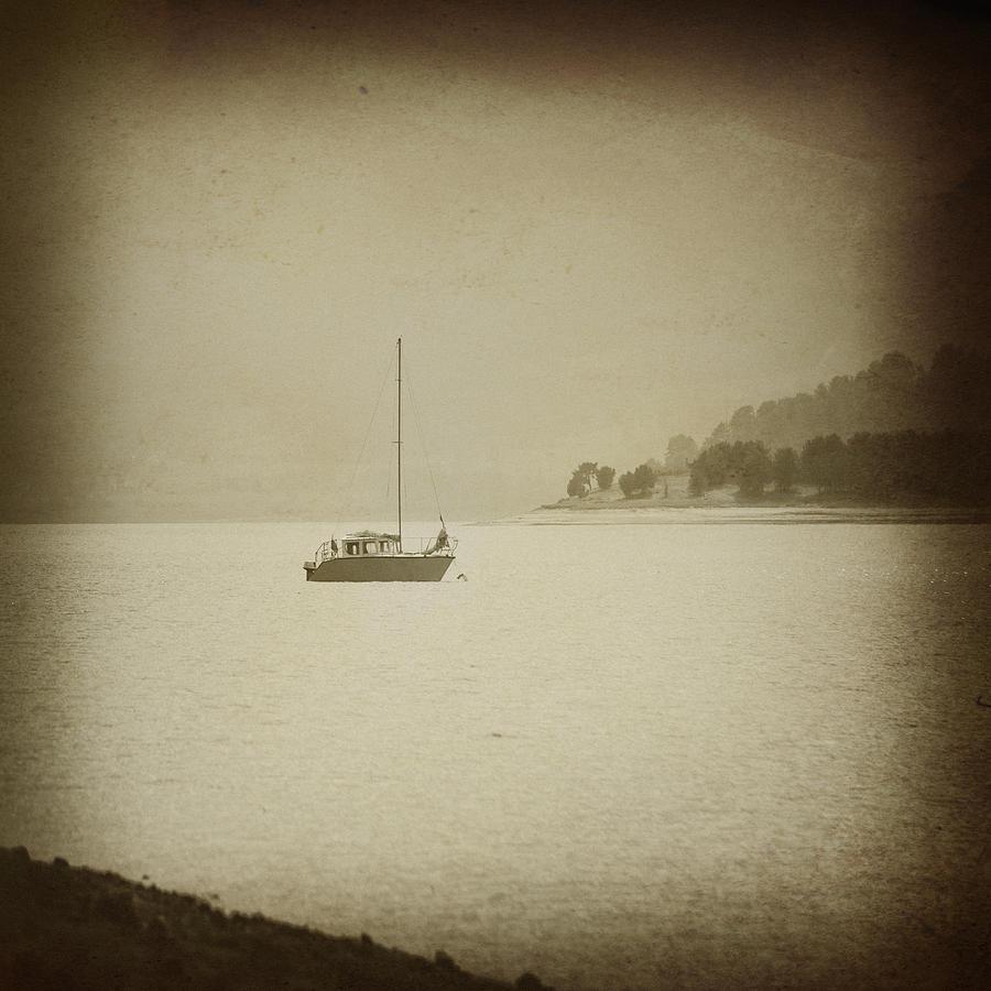 Water Photograph - Boat  by Svetoslav Sokolov