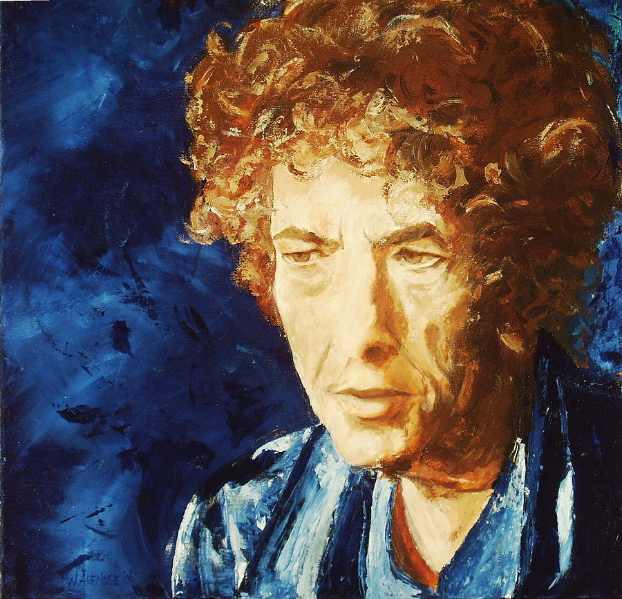 Bob Painting - Bob Dylan by Willem Arendsz