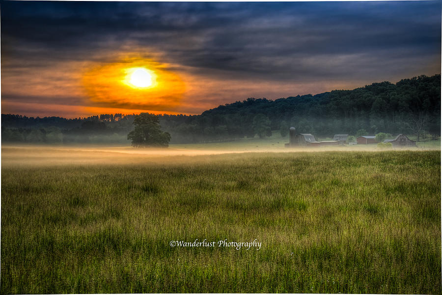 Farm Photograph - Bohannon Farm  by Paul Herrmann