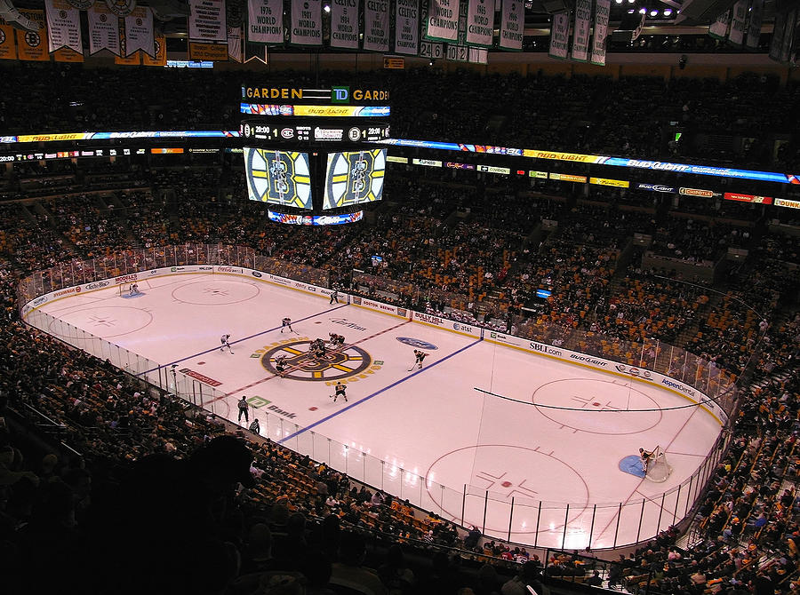 Boston Photograph - Boston Bruins by Juergen Roth