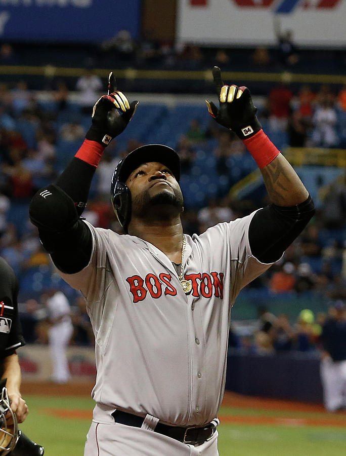 Boston Red Sox V Tampa Bay Rays 1 Photograph by Brian Blanco