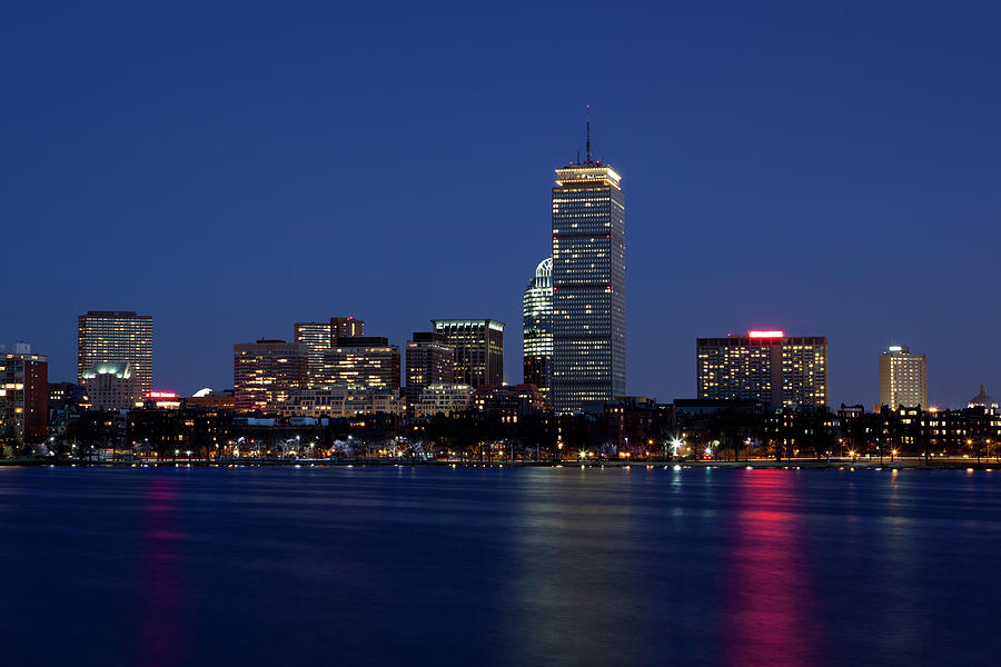 Boston Skyline Photograph by Angiephotos