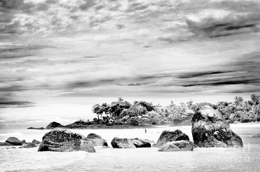 Beach Photograph - Boulders On The Beach by William Voon
