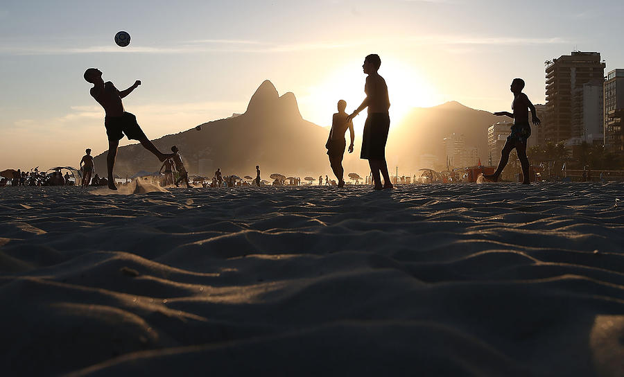 Brazils Various Forms Of Soccer Photograph by Mario Tama