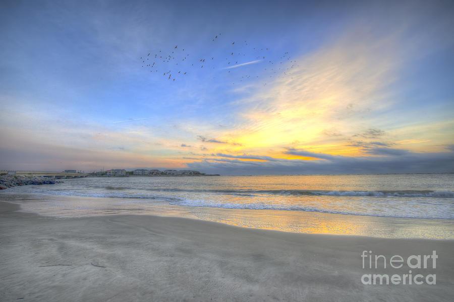 Breach Inlet Sunrise Photograph