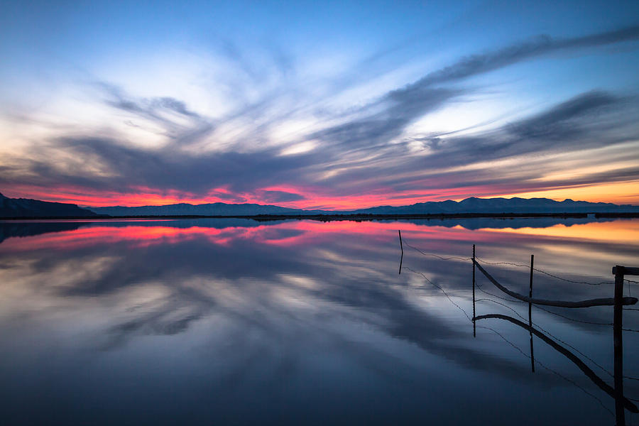 Great Salt Lake Photograph - Brighter Horizons by Darryl Wilkinson