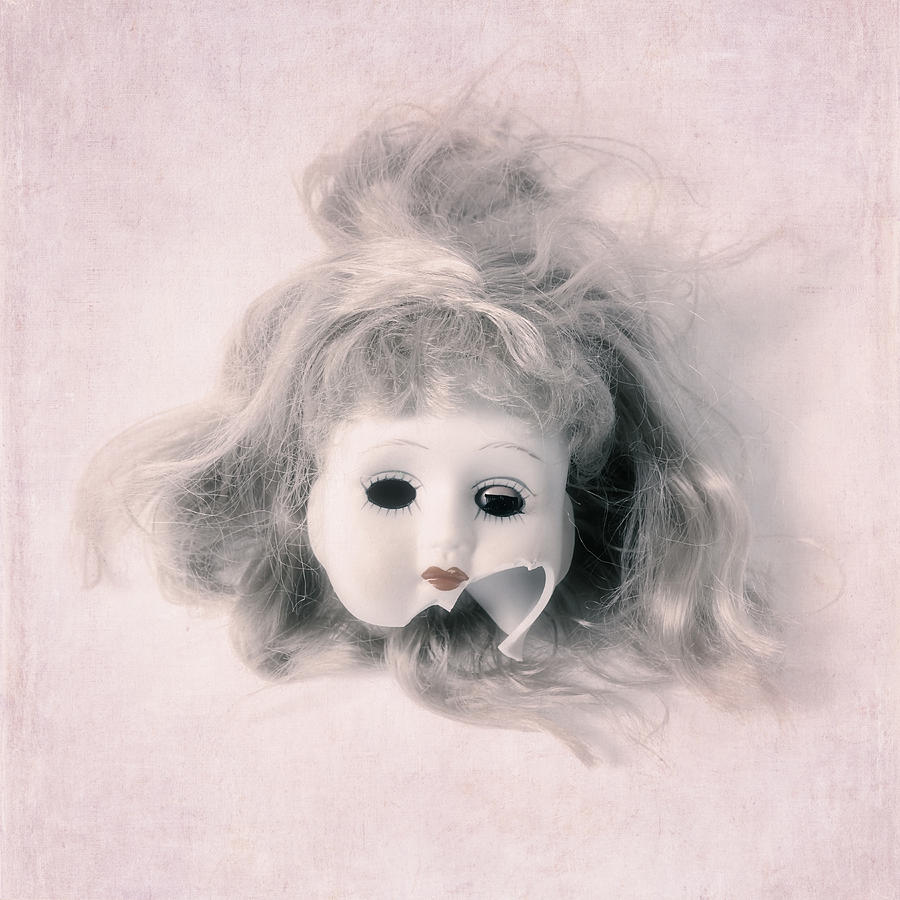 Doll Photograph - Broken Head by Joana Kruse