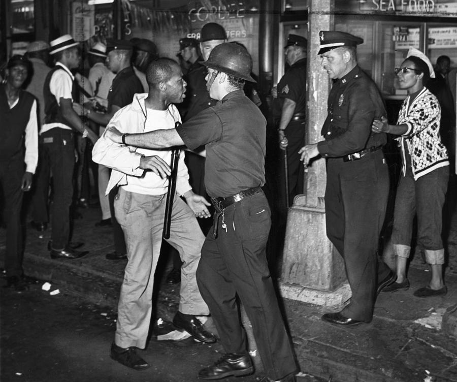 1964 Photograph - Brooklyn Riots, 1964 by Granger