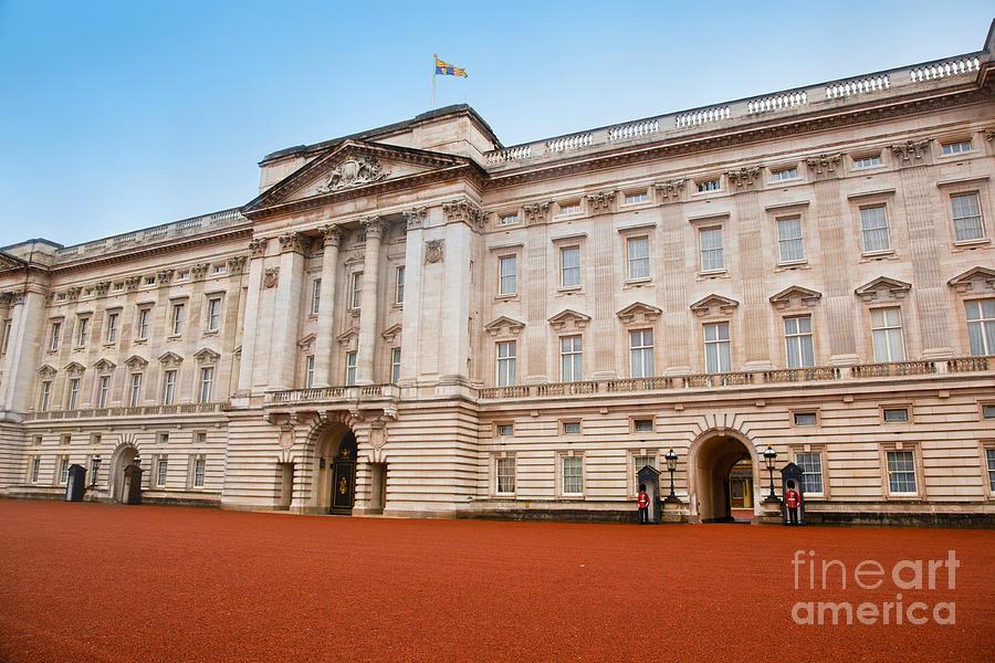 Guard Photograph - Buckingham Palace In London Uk by Michal Bednarek