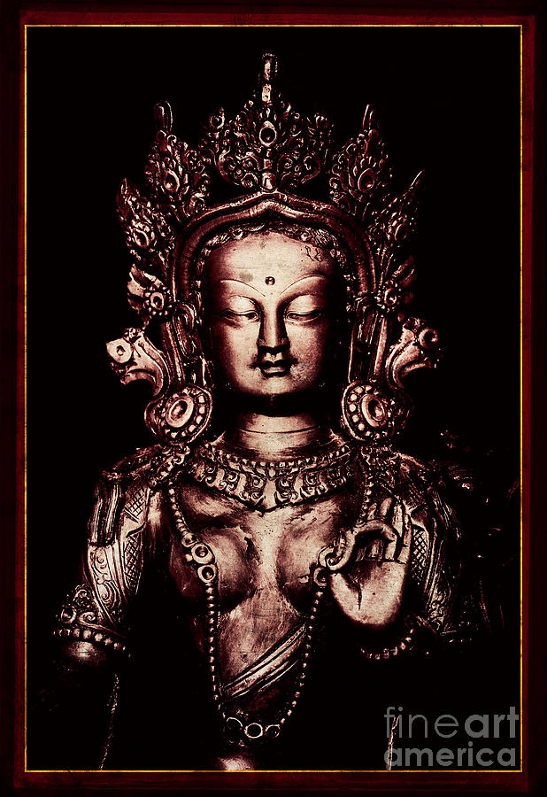 Buddhist Photograph - Buddhist Tara Deity by Tim Gainey