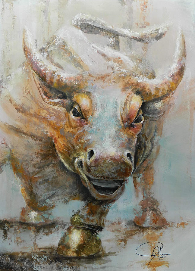 Ideal Bull Market W Redo Painting by John Henne GR77