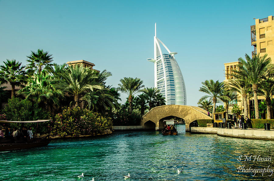 Burj Al Arab Photograph by S M  Hasan