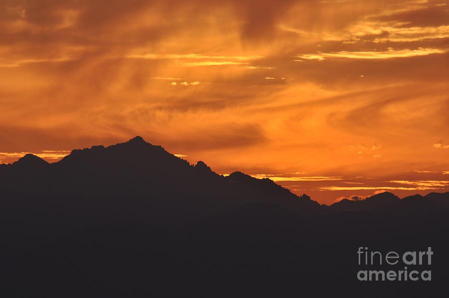 Burning sky by Simona Ghidini