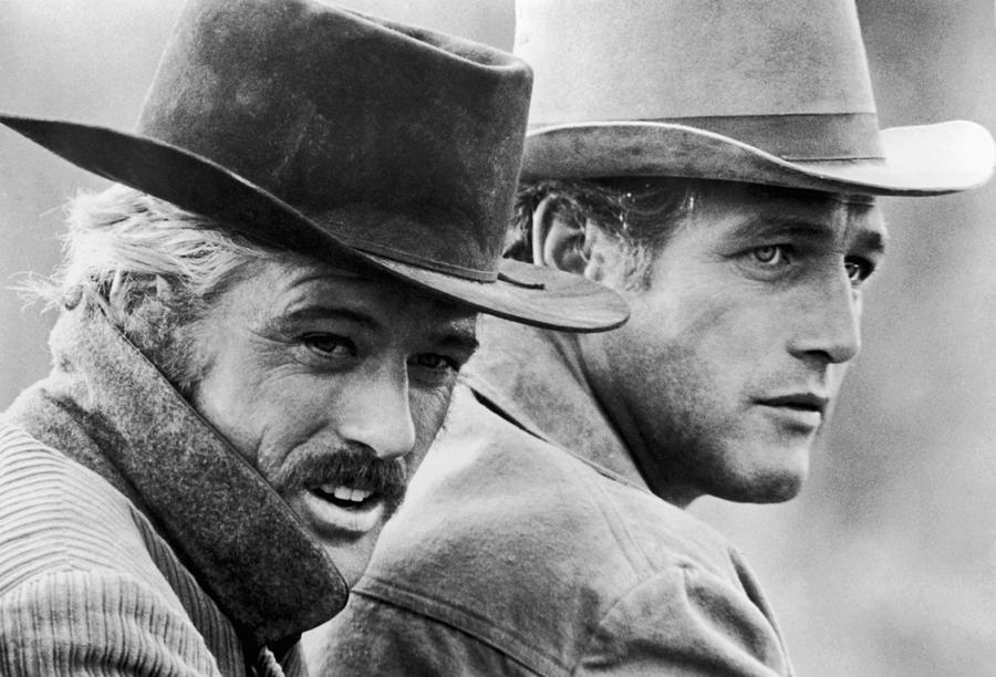 Paul Newman Photograph - Butch Cassidy and the Sundance Kid by Georgia Fowler