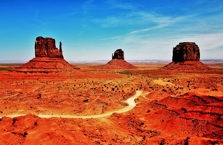 Monument Valley Photograph - Buttes by Benjamin Yeager