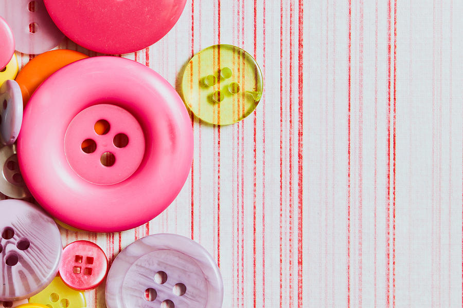 Abstact Photograph - Buttons by Tom Gowanlock