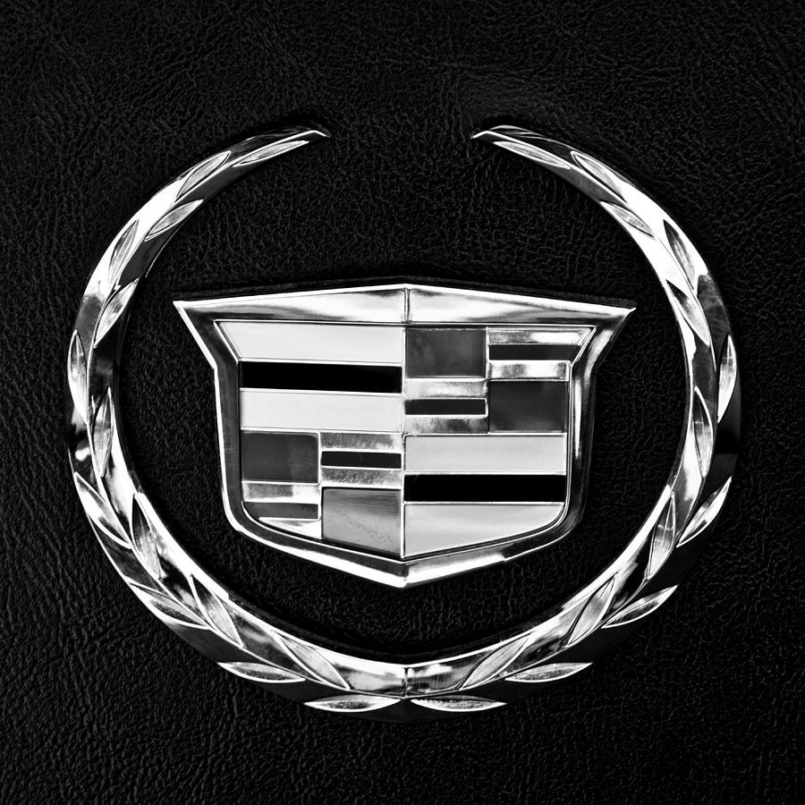 Cadillac Photograph - Cadillac Emblem by Jill Reger