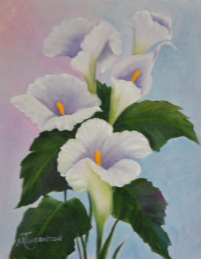 Calla Lily Painting - Calla Lily by Marsha Thornton