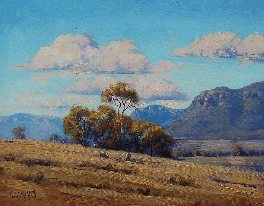 Capertee Valley Australia Painting