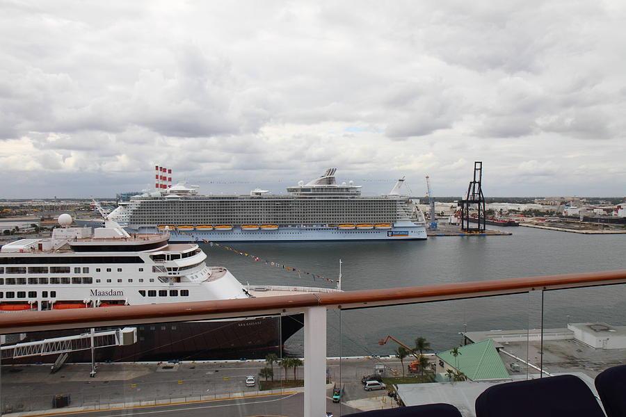 Cruise Photograph - Caribbean Cruise - On Board Ship - 121214 by DC Photographer